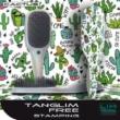Hajkisimító és szuper hajbontó kefe Tanglim Exclusive Free-Cactus