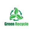 Organikus hajkefe 25/37 mm - menta zöld