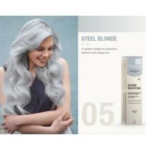 Kinessences Blonde tartós ammóniamentes hajszínező - Acél szürke 05