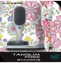 Detangler szuper hajbontó kefe Tanglim Exclusive Free-Flowers
