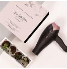 KIN Rose Gold Edition professzionális hajszárító + Ajándék Kinessences hajregeneráló olaj