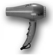 Design hajszárító LIM-HAIR Professzionális Carbon