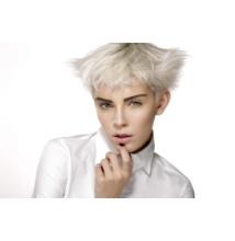 Fehér haj készítő hajfesték és szőkítőpor nagy szett