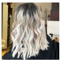 Ultra világos hamvas szőke haj készítés roncsolás nélkül szett KINBLOND4