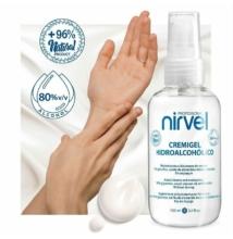 Nirvel azonnali fertőtlenítő és kézápoló krém 100 ml