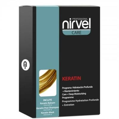 Nirvel Deep Mosturizing Treatment keratinos mély hajkezelés csomag