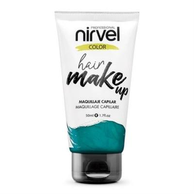 Nirvel Hair Make up kimosható alkalmi hajszínező Aqamarine zöld