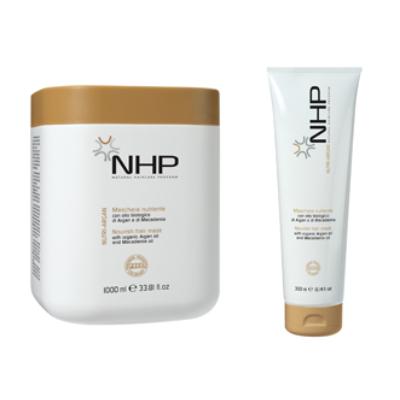 NHP Nutri Argan természetes hajpakolás száraz és töredezett hajra 500ml