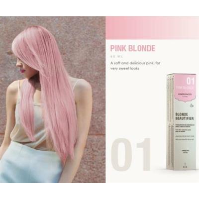 Kinessences Blonde tartós ammóniamentes hajszínező - Pink 01