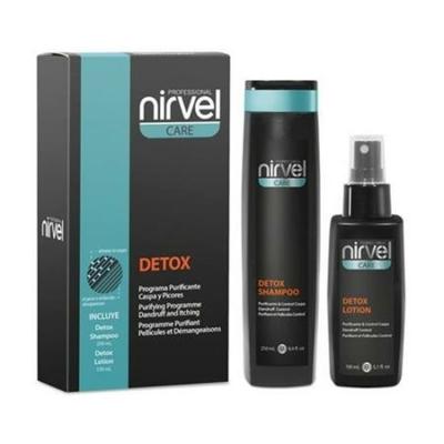 Nirvel DETOX korpásodás elleni hajkezelő csomag