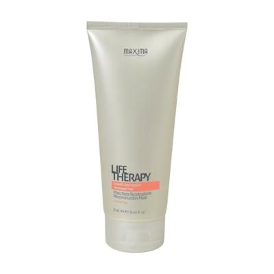 Maxima Life Therapy keratinos hajpakolás erősen száraz töredezett hajra 250 ml