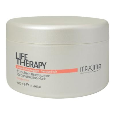 Maxima Life Therapy keratinos hajpakolás erősen száraz töredezett hajra 500 ml